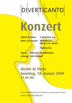 Konzert 'The Joy of Prayer'